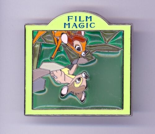 Disney Japan Bambi Looking at Reflection in Water Film Magic Stained Glass Pin