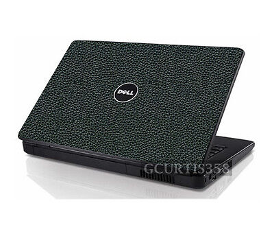 LEATHER Vinyl Lid Skin Cover Decal fits Dell Inspiron 1525 1