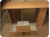 New Malibu 3 Drawer Desk Argos.