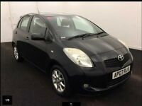 2007 Toyota Yaris 1.3 VVT-i SR 5dr,Full Service History, P/X WELCOME