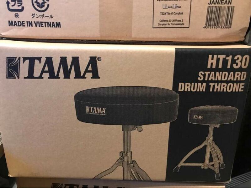 TAMA HEAVY DUTY DRUM THRONE CHAIR SEAT STOOL