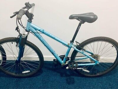 """Girls Turquoise Apollo Bike Great Condition 14"""" frame"""