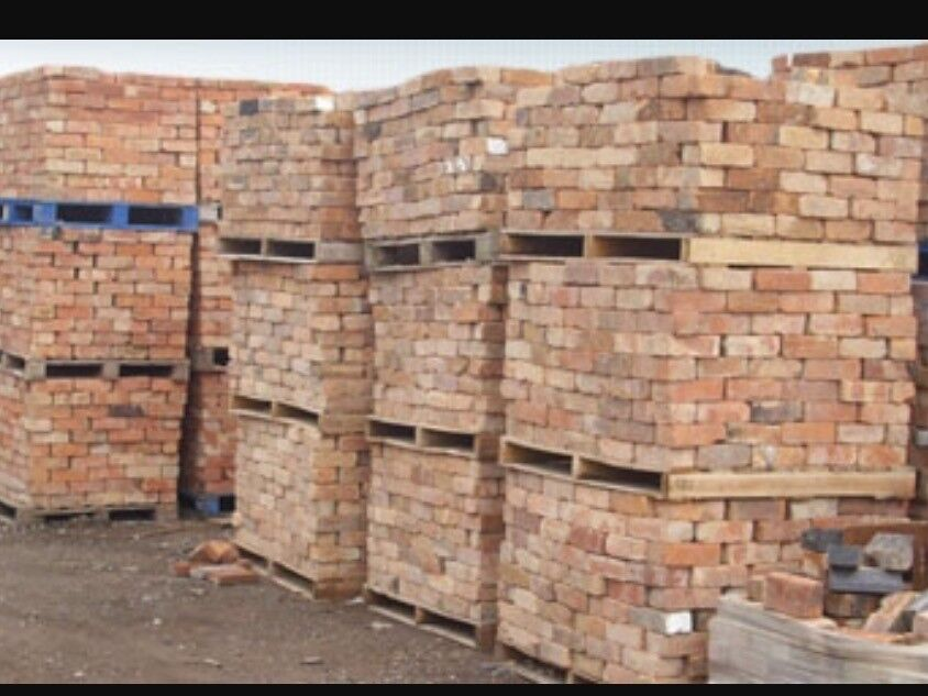 Here we have a old handmade brick thousands in stock