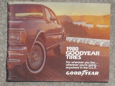 Goodyear Tire   Rubber Co  1980Ngoodyear Tires Booklet