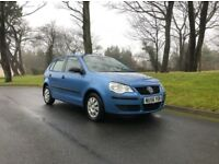 Volkswagen Polo 1.2 litre 5 DOOR - IMMACULATE CONDITION! - COMES WITH 9 MONTHS FULL MOT!