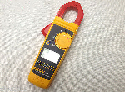 1pcs New Fluke 324 40400a Ac 600v Acdc Clamp Meter