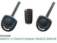 Vauxhall Astra H, Corsa D, Vectra C, Zafira B - NON REMOTE Key - cut and programmed