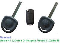 Vauxhall Astra H / J, Corsa D, Insignia, Vectra C, Zafira B - Car Key - cut and programmed