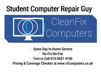 CleanFix Computers - Free Home Call-Out 15 min Drive Around Glasgow City Centre!