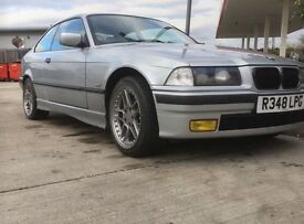 Bmw e36 323i 2.5L low mileage. Lovely example