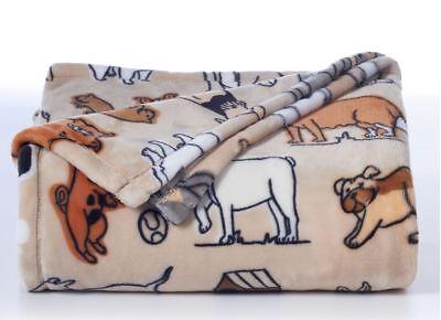 NWT The Big One OverSize Dog Plush Warm Throw Blanket 60 x 70 NEW
