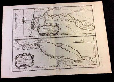 RIVIERA OF SENEGAL MAP 1718
