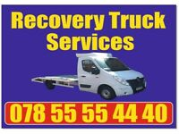 Recovery truck service