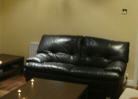 Italian Leather 2 seater sofa. Good condition.