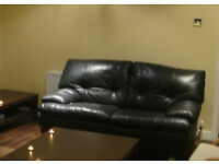 Italian Leather 2 seater sofa. Good condition.