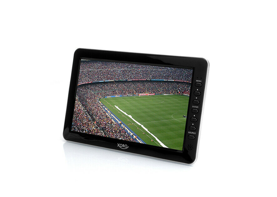 "XORO PTL 1010 Tragbarer 10"" Zoll Fernseher, DVB-T2 Tuner, Mediaplayer, PVR Ready"