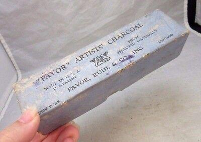 "Vintage ""Favor"" Artists Charcoal box. Favor, Ruhl Co."