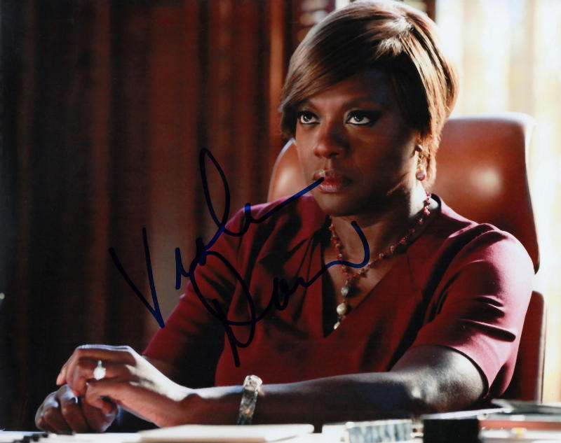 VIOLA DAVIS.. How To Get Away With Murder's Annalise Keating - SIGNED
