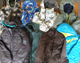 Boys winter coats from 4 to 10 years