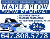 reliable quality snow removal