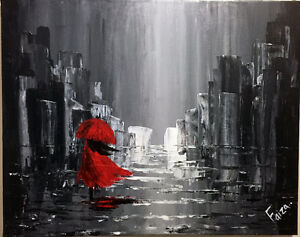"""A walk in the rain"""