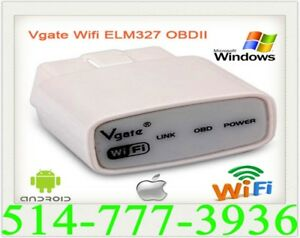 VGATE ELM327 OBD2 WIFI Auto Car Scanner IPHONE IPAD Check Engine