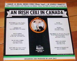an Irish Ceili in Canada RARE vinyl LP Banff record