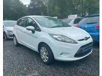 2010 FORD FIESTA 1.25 EDGE 60BHP FULL SERVICE HISTORY FROZEN WHITE MUST BE SEEN!