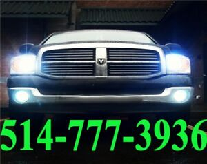 DODGE KIT HID XENON CONVERSION HEADLIGHTS AUTO CAR INSTALLATION