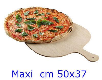 RAGSTORE -  PALA PER PIZZA IN LEGNO BETULLA CM 50x37 XL