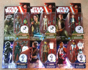 Star Wars: The Force Awakens Set Figures Jungle & Space Wave 4