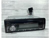 Pioneer DEH-X5500BT CD/MP3 Bluetooth built in car stereo system, USB,iPod/iPhone