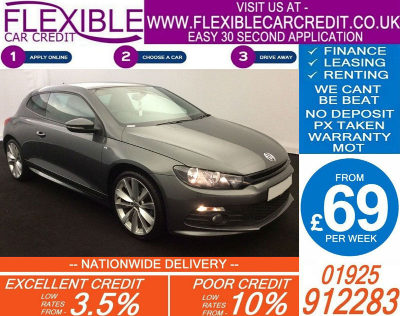 2014 vw scirocco 2 0 tdi r line good bad credit car finance available in bletchley. Black Bedroom Furniture Sets. Home Design Ideas