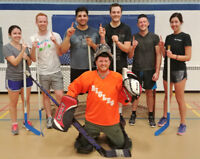 Play Co-ed, For-Fun Floor Hockey with FCSSC this Winter!
