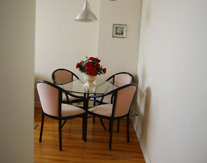 LACHINE WATERFRONT FURNISHED 4 1/2*WiFI*A/C*PATIO*FLEX TERMS