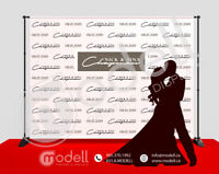 Step and Repeat Event Backdrop