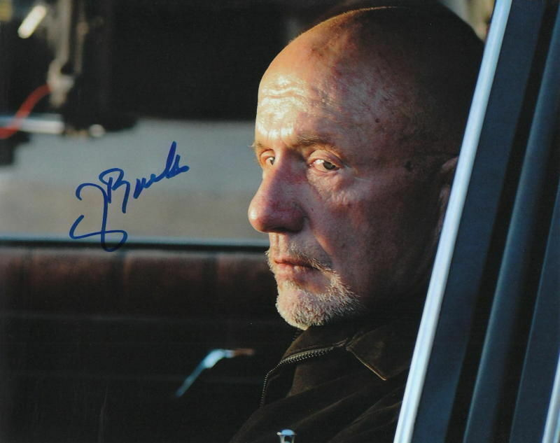 JONATHAN BANKS.. Breaking Bad Cleaner - SIGNED