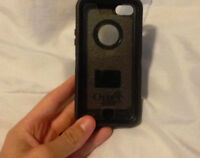 Iphone 5c otter box black 20$