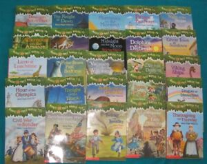 Magic Tree House books #1-25