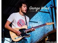 PROFESSIONAL GUITAR TUITION with GEORGE WOOD - **NEW YEAR '18 DISCOUNT SPECIAL + FREE LESSON!**