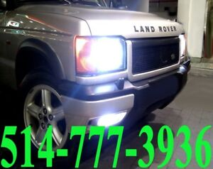 LAND ROVER CONVERSION KIT HID XENON LED INSTALLATION HEADLIGHTS