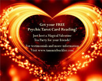 Valentine's Day Party with a Psychic Tarot Card Reading !!!