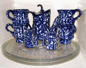 7 Pc Ceramic Tea Set