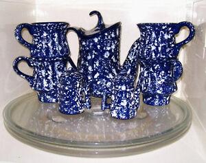 7 Pc Ceramic Tea Set