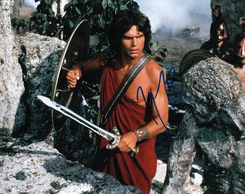 HARRY HAMLIN.. Clash Of The Titans' Perseus -  SIGNED