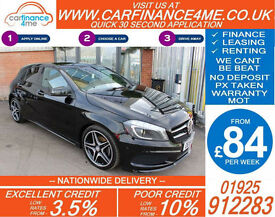 2015 MERCEDES A200 2.1 CDI AMG SPORT GOOD / BAD CREDIT CAR FINANCE FROM 84 P/WK