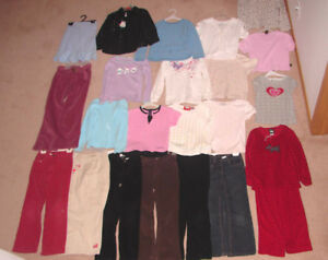 Girls Clothes, Jackets, Swimsuits - sz 6, 7, 8