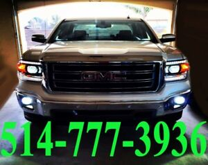 GMC KIT HID XENON CONVERSION CAR HEADLIGHTS PHARES INSTALLATION