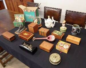 Musical box collection $175 firm Swanbourne Nedlands Area Preview