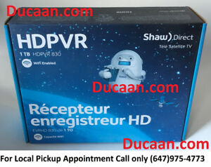 NEW SHAW DIRECT 830 HD PVR (1TB) SATELLITE RECEIVER+ WARRANTY